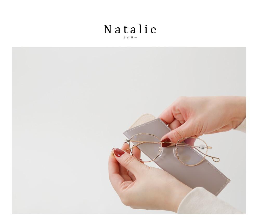 """Ciqi(シキ)<br>ブルーライト・UVカット メタルフレームリーディンググラス""""Natalie"""""""