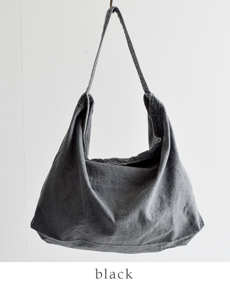 ARTE POVERA(アルテポーヴェラ)ブラックデニムトート&ショルダーバッグ 2017summer50
