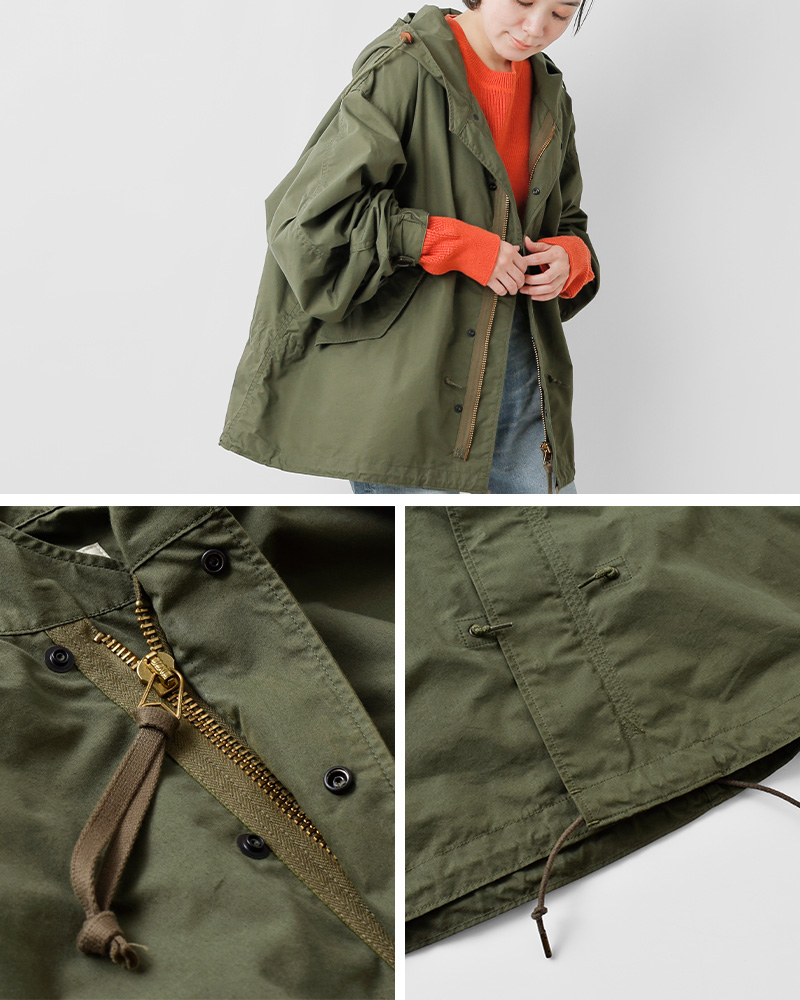 """Shinzone(シンゾーン)コットンフードジャケット""""PARK PARKA""""  20amsco54"""