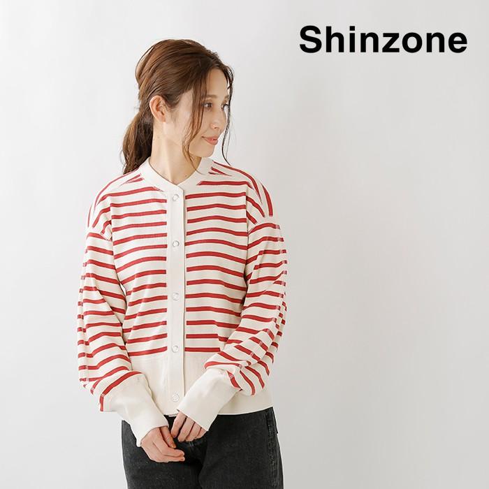 "Shinzone(シンゾーン)コットンボーダーカーディガン""BORDERCAPELINCD""20amscu21"