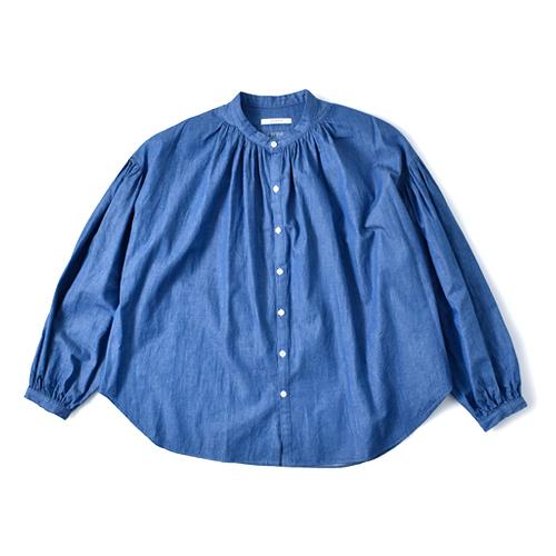 manon(マノン)<br>コットンギャザーアミカルシャツ mnn-sh-145
