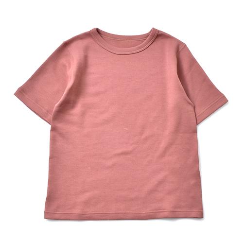 tumugu(ツムグ)<br>スーピママシュコットンフラットシーマ半袖Tシャツ tc21102