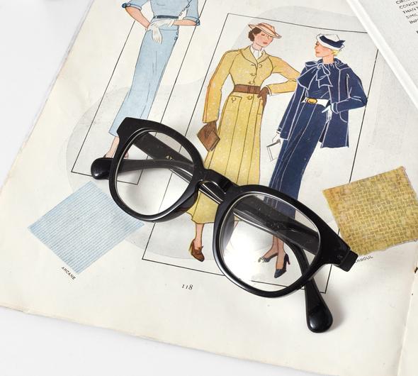 atelier brugge(アトリエブルージュ)<br>aranciato別注 クリアレンズボストン眼鏡/サングラス 32ty-2939