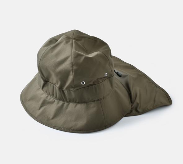 """halo commodity(ハロ コモディティー)<br>サンシェード付きハット""""Shirk Hat"""" h211-404"""