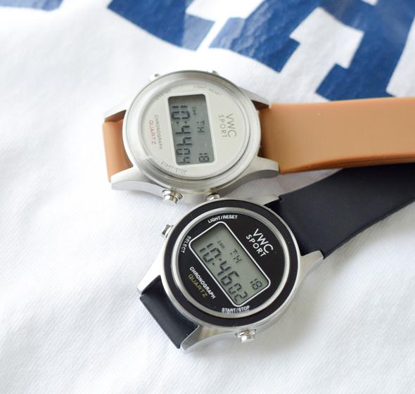 """Vague Watch Co.(ヴァーグウォッチカンパニー)<br>ラウンドデジタルウォッチ""""DG2000"""" dg-l-001-2-3"""