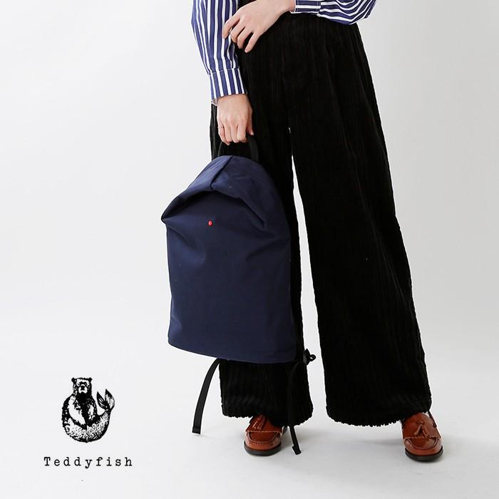 TEDDYFISH(テディフィッシュ)コーデュラファブリックパックパック26-tf