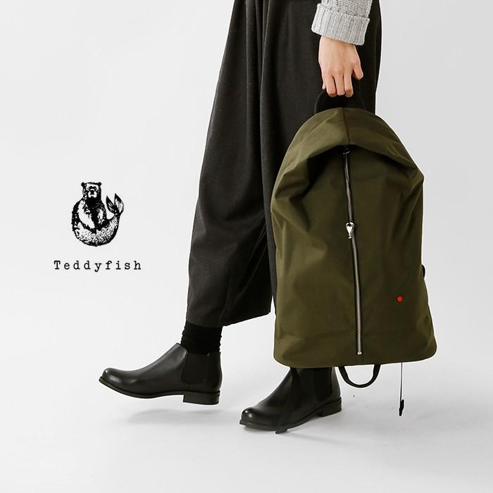 TEDDYFISH(テディフィッシュ)コーデュラファブリックラージバックパック27-tf