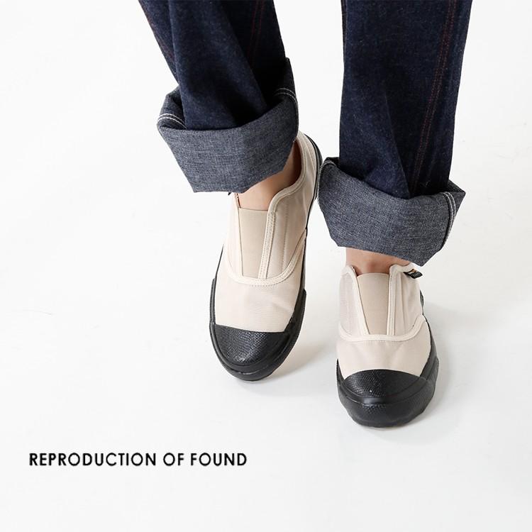 REPRODUCTION OF FOUND(リプロダクションオブファウンド)センターエラスティックコーデュラナイロンスリッポン 3000c