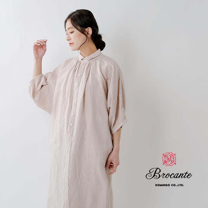 DMG Brocante(ディーエムジー ブロカント)グランシャツワンピース 37-0112x