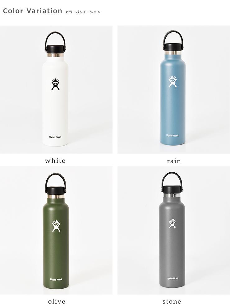 """Hydro Flask(ハイドロフラスク)ハイドレーションスタンダードマウス ステンレスボトル709ml""""HYDRATION SM 24oz"""" 5089015"""