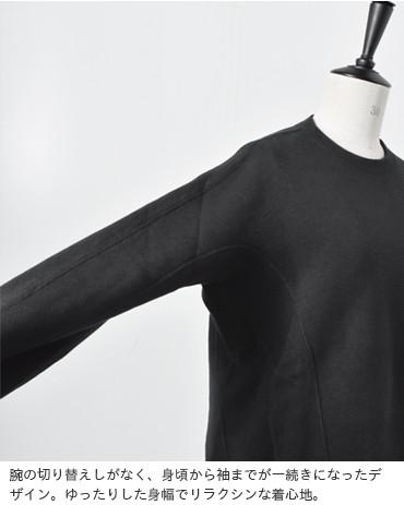 SCYE BASICS(サイベーシックス)吊り裏毛起毛スウェットシャツ 5218-23580