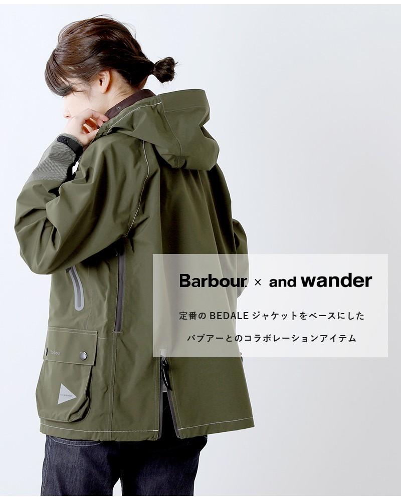 and wander(アンドワンダー)バブアーコーデュライーベントジャケット 574-0111006