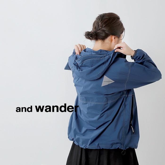 and wander(アンドワンダー)PERTEXウインドジャケット 574-0121007