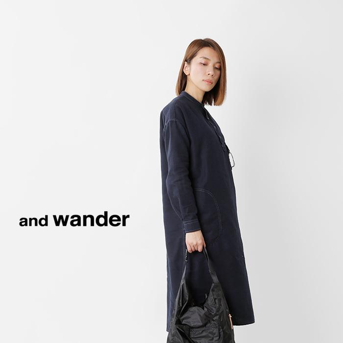 andwander(アンドワンダー)サーモライトネルチュニック574-0283101