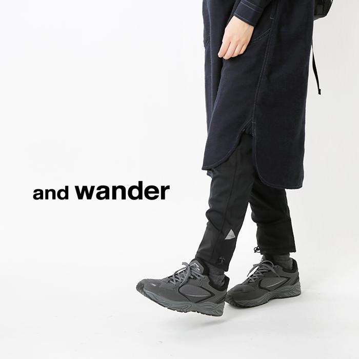 and wander(アンドワンダー)ドライジャージータイツ 574-0962001