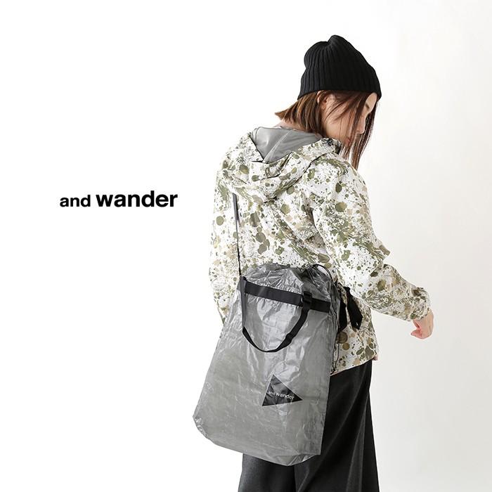 and wander(アンドワンダー)キューベンファイバースタッフサックlarge aw-aa619