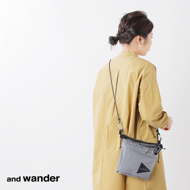 and wander(アンドワンダー)キューベンファイバーサコッシュ 574-0985003