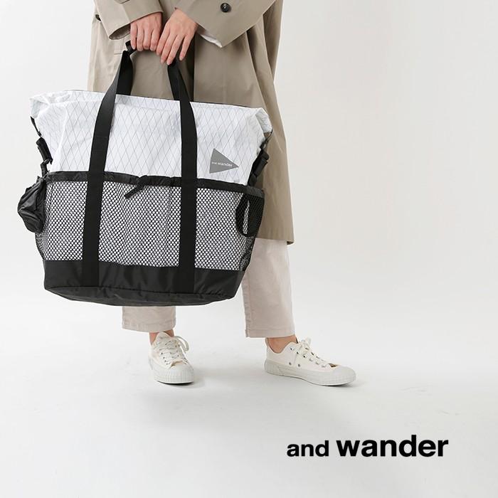 and wander(アンドワンダー)X-Pac 45Lトートバッグ 574-0975010