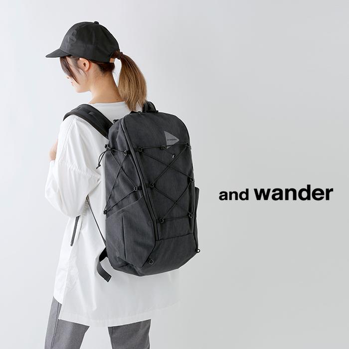 and wander(アンドワンダー)ヘザーバックパック 574-0985004
