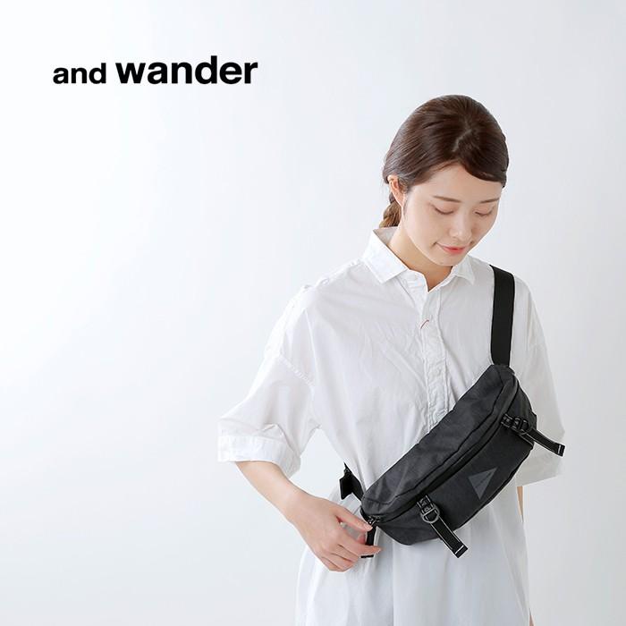 and wander(アンドワンダー)ヘザーウエストバッグ 574-0985007