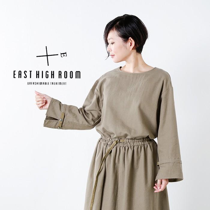 EAST HIGH ROOM(イーストハイルーム)aranciato別注 綿ウールカルゼ ドローストリングワンピース 738941