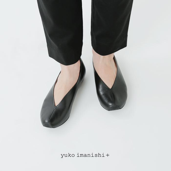 yuko imanishi+(ユウコイマニシプラス)センターシームレザーパンプス
