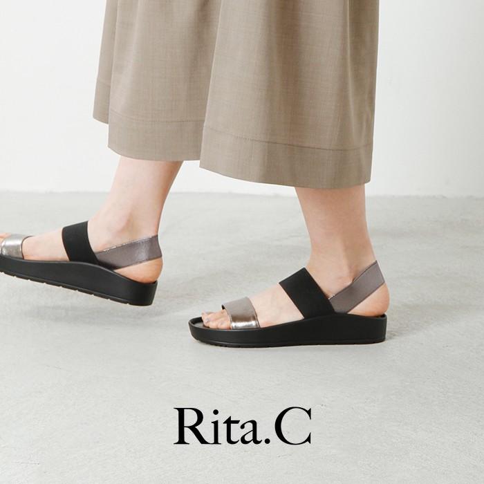 rita-c(リタ)aranciato別注ベルト切替フラットサンダル 7s5106000209