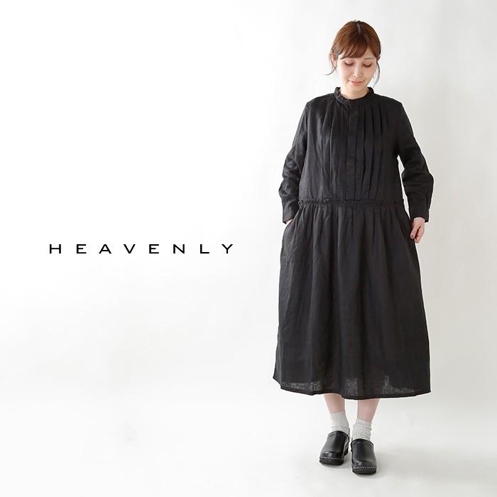 heavenly(ヘブンリー)aranciato別注 リネンバンドカラープリーツワンピース 847201