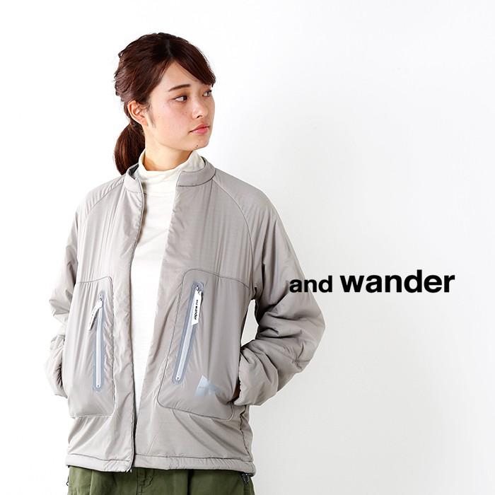 and wander(アンドワンダー)ポーラテックアルファジャケット aw83-ft634