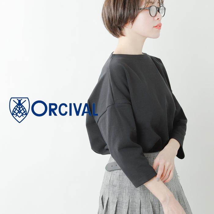 ORCIVAL(オーチバル・オーシバル)コットンロードミディアムカットソー b459
