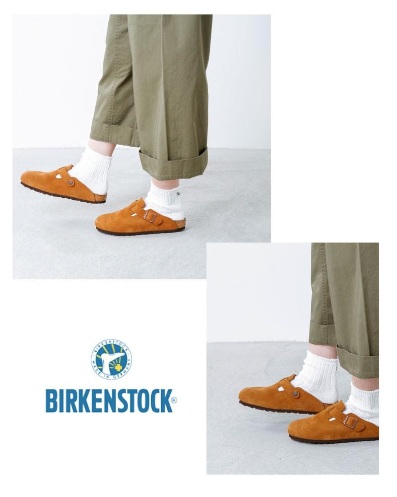 BIRKENSTOCK(ビルケンシュトック)スウェードレザーサンダル BOSTON  boston-suede