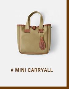 "Brady(ブレディ)ツイルスモールキャリートートバッグ""SMALL CARRYALL"" small-carryall"