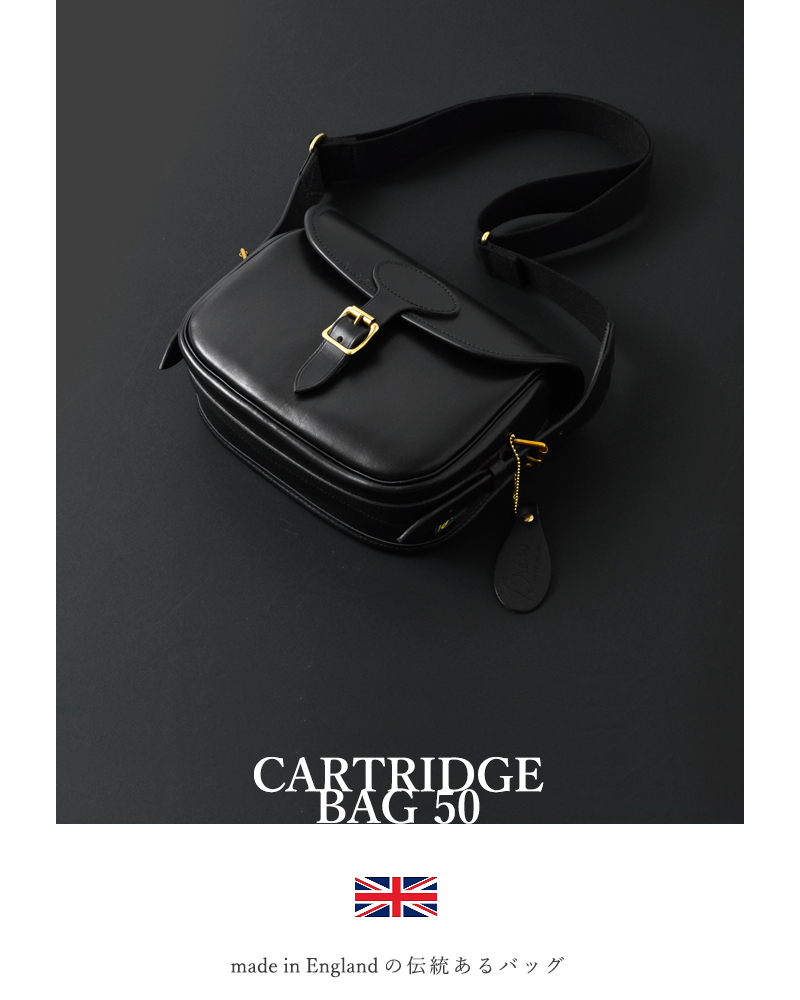 "Brady(ブレディ)レザーカートリッジバッグ""Cartridge bag 50"" cartridge-bag-50"