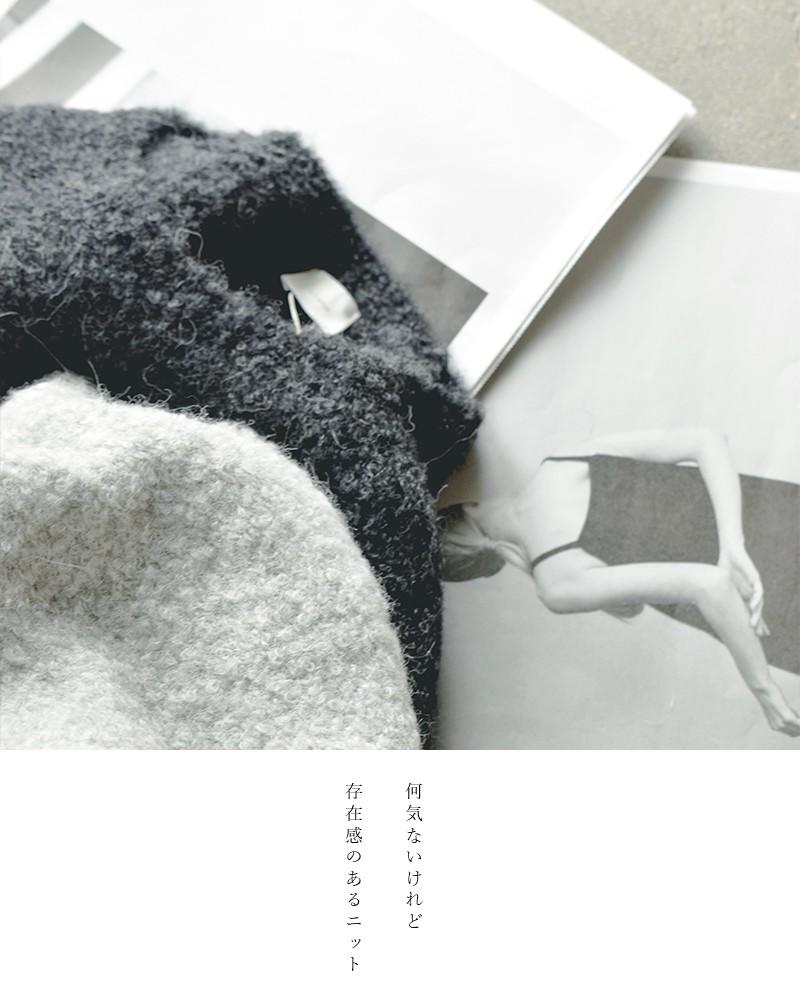 C.T.plage(シーティープラージュ)アルパカVネックニットプルオーバー ct20338