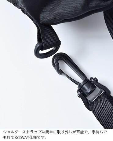 DRIFTER(ドリフター)420デニールパッククロスナイロンドローストリングポーチショルダーバッグ dfv1200