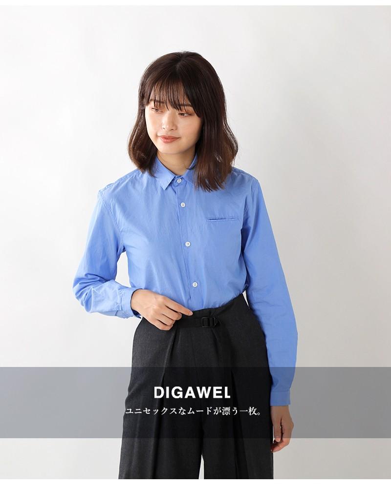 """DIGAWEL(ディガウェル)コットンピンカラーシャツ""""STANDARD SHIRT1"""" dwjob034y"""