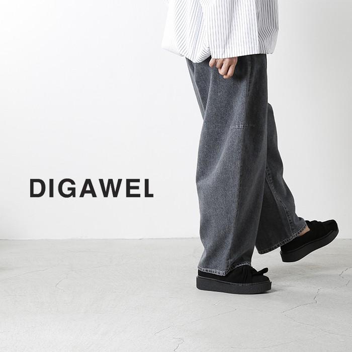 DIGAWEL(ディガウェル)テーパードデニムパンツ dwqob075y