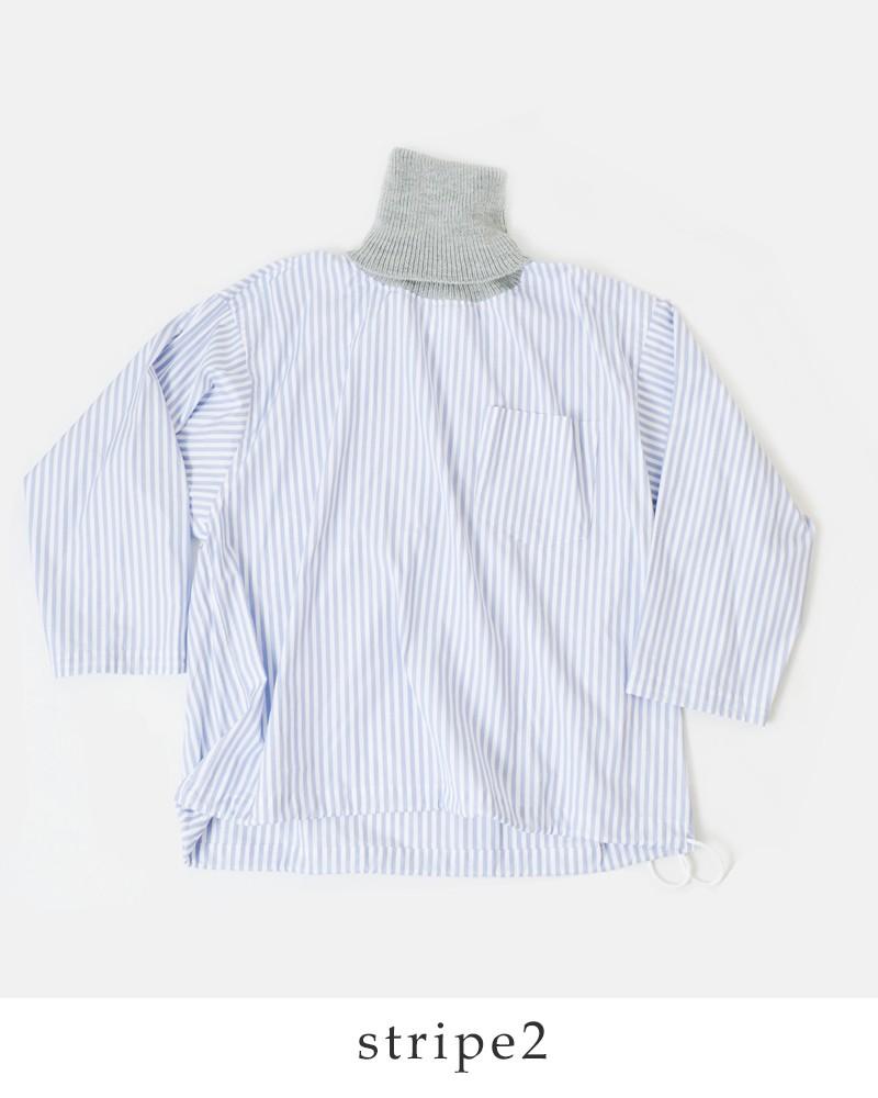 DIGAWEL(ディガウェル)ニットネック切替プルオーバーシャツ dwqob088y-089y