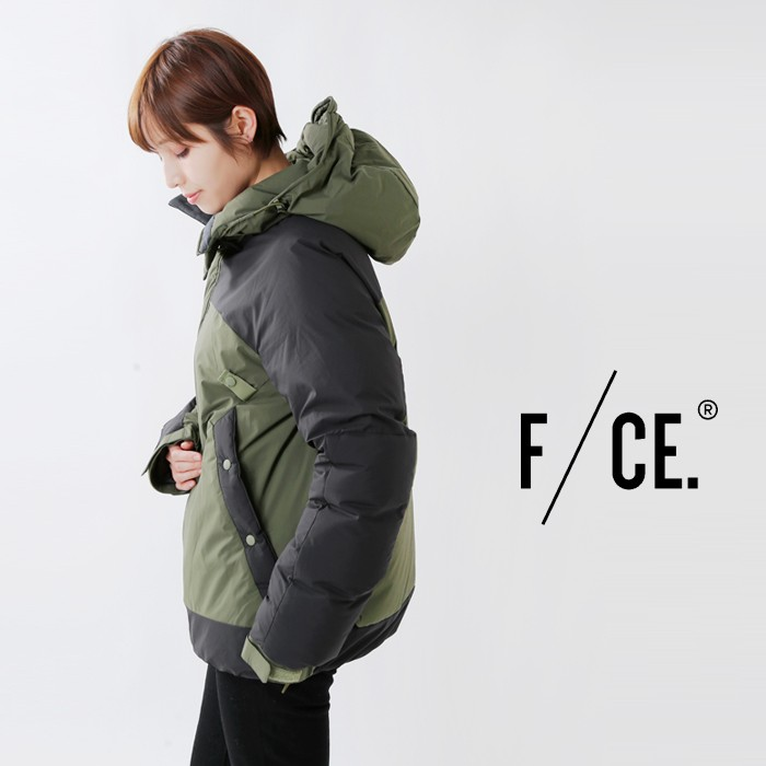 F/CE.(エフシーイー)×NANGA(ナンガ)エフライトクライミングダウンジャケット f1802na0020