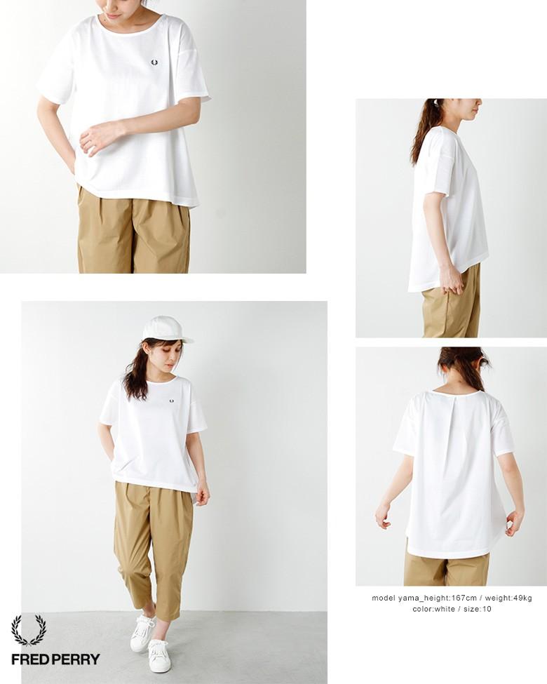 """FRED PERRY(フレッド ペリー)60/2鹿の子コットンバックタックTシャツ""""PIQUE T-SHIRT"""" f5277"""
