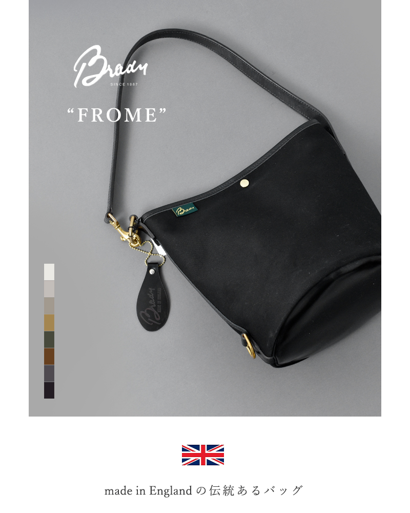 "Brady(ブレディ)ツイルショルダーバッグ""FROME"" frome-bag"