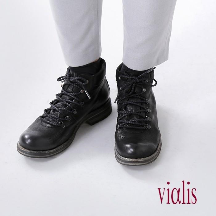 Vialis(ビアリス)レザーマウンテンブーツ fura-6515