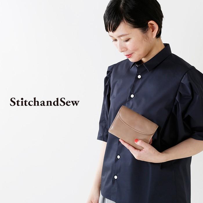 StitchandSew(スティッチアンドソー)ロウ引きレザーウォレットfws103