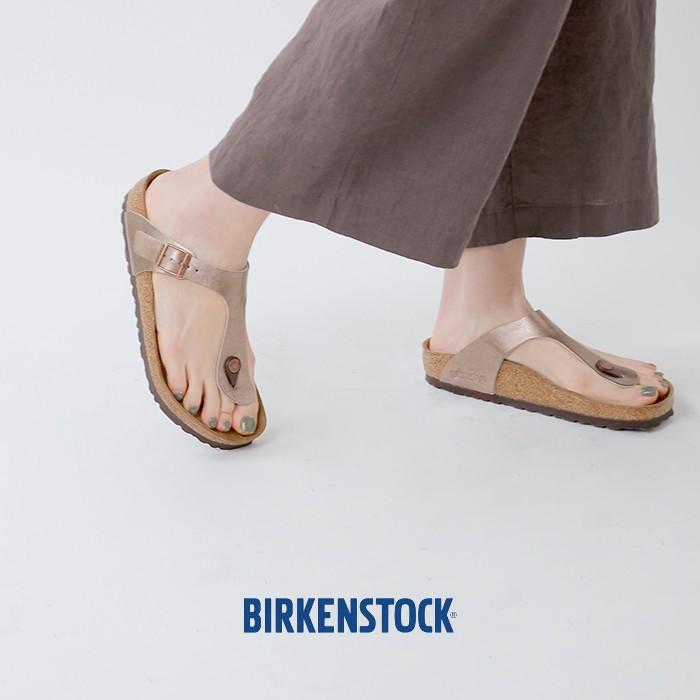 "BIRKENSTOCK(ビルケンシュトック)Birko-Florメタリックトングサンダル""Gizeh"" gizeh-bs"