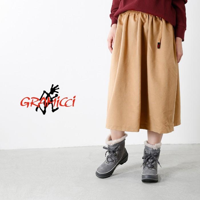 GRAMICCI(グラミチ)ウールロングフレアスカート glsk-17f023