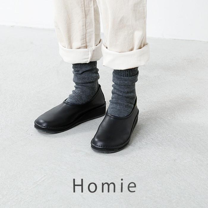 Homie(ホミー)コットンウールバイカラーソックスh-012