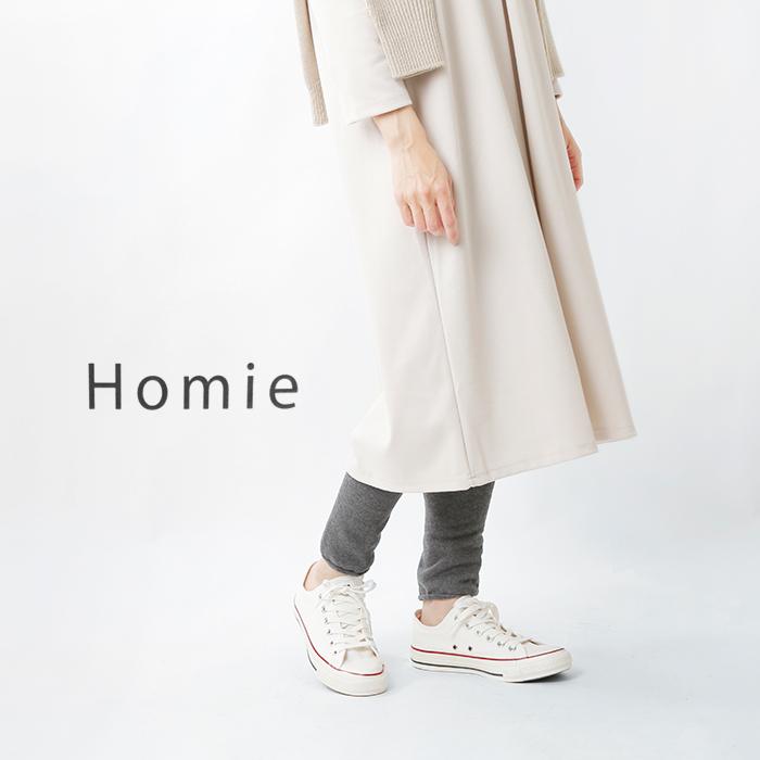 """Homie(ホミー)<br>ウールコットンパイルレギンス""""WoolCottonPileLeggins""""hl-003"""