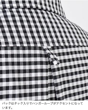 DANTON(ダントン)オコットンオックスフォードギンガムプルオーバーシャツjd-3564trd