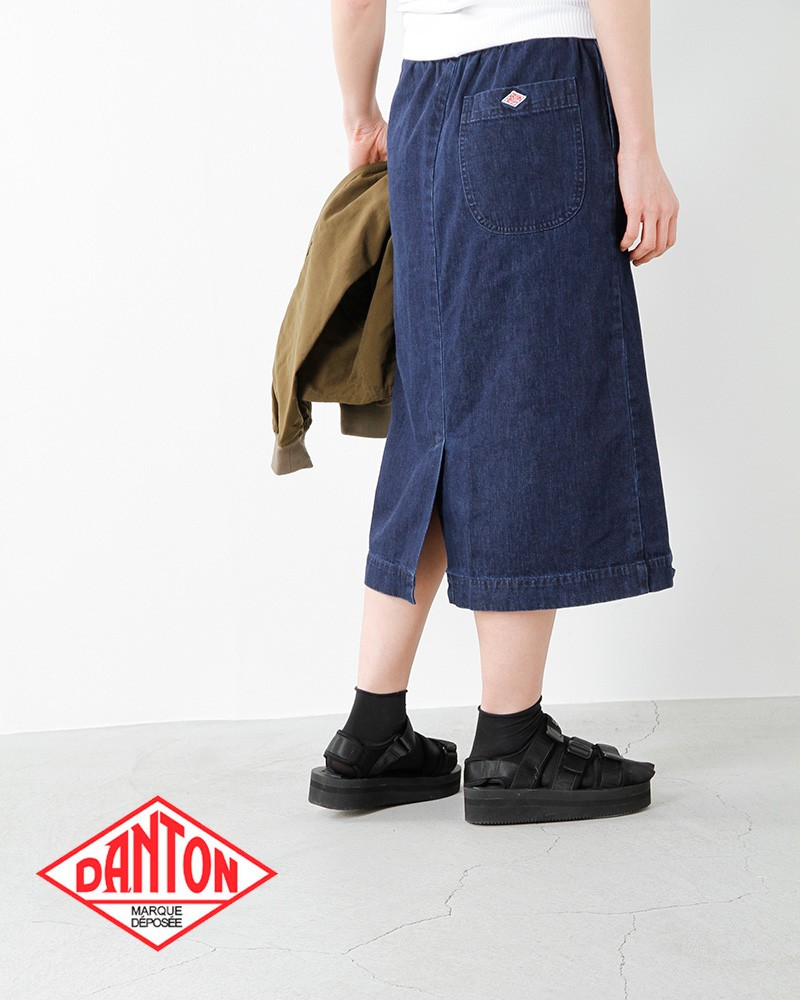 DANTON(ダントン)8ozデニムスカート jd-5054svd