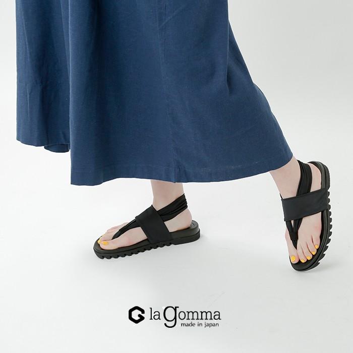 la gomma(ラゴンマ)フラットトングサンダル lgw-1